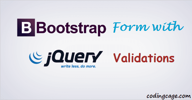 Designing Bootstrap Signup Form with jQuery Validation | Coding Cage