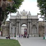 'Eingangstor des Dolmabahçe Sarayı'