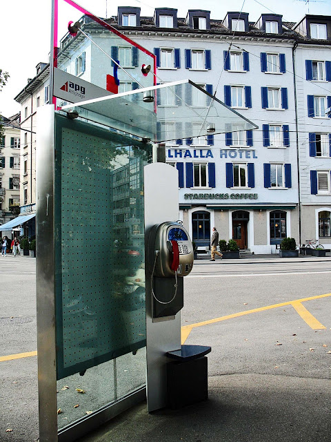 Zurich phone booth