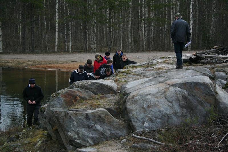 Kallioperägeologian kenttäkurssi, kevät 2012 - Kallioper%25C3%25A4kenttis%2B014.JPG