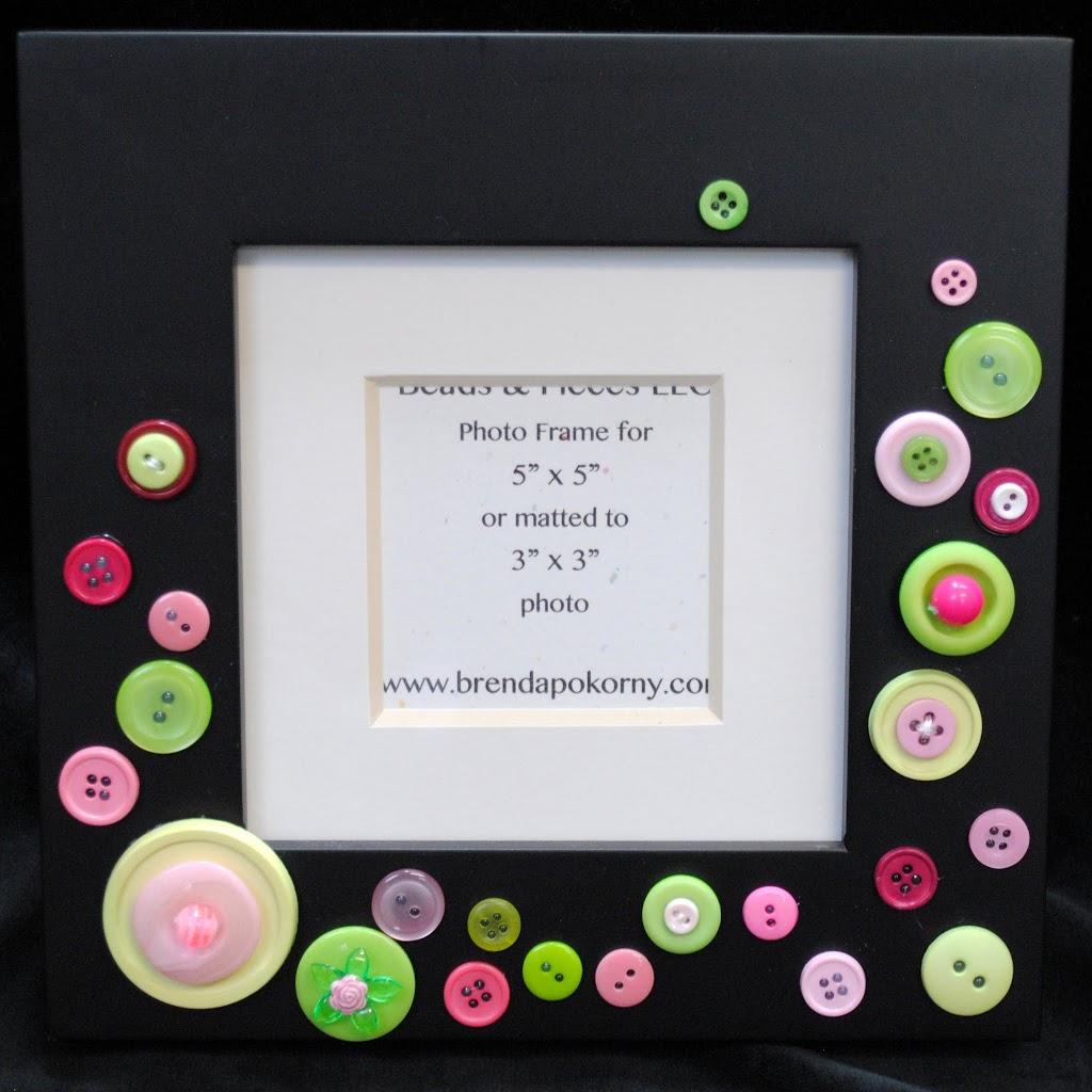 """Pretty as a Princess Pink & Lime Green 5"""" x 5"""" Photo Frame MOF1433"""
