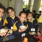 Gratitude towards ' People who help us' Making Fruit Salad (Grade I-II) 22-12-2016
