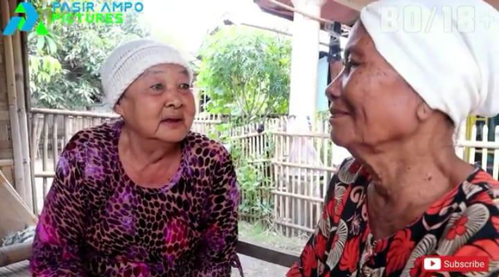 Duo Nenek Dari Pasir Ampo Tangerang Tiba-tiba Ngetop Setelah Main Film Komedi Pendek Garapan PAP