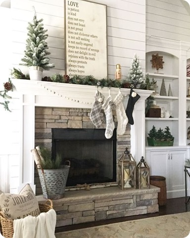 vintage nest christmas