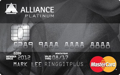 13 Kad Kredit Alliance Bank terbaik