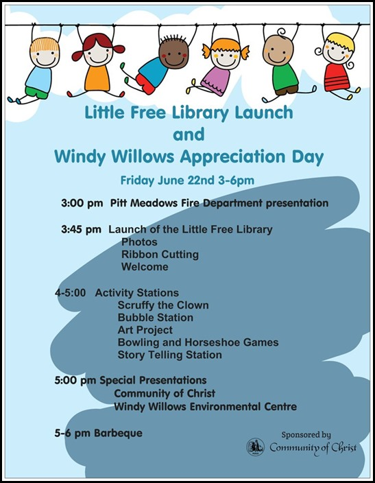 Library Launch Flyer