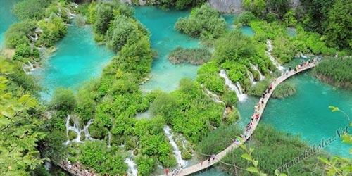Plitvice Gölleri Milli ParkıHıtvatistan