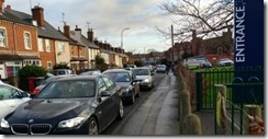 Crescent Road congestion s
