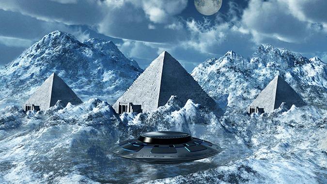 Antiga Civilização Avançada na Antártida