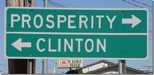 clinton prosperity newberry sc