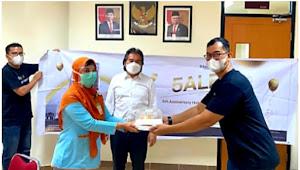 Rayakan Ulang Tahun ke-5, Hotel GranDhika Setiabudi Medan Apresiasi Tenaga Kesehatan Covid-19