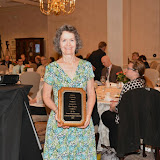 2015 Gina Gregory receives a Lifetime Volunteer Award