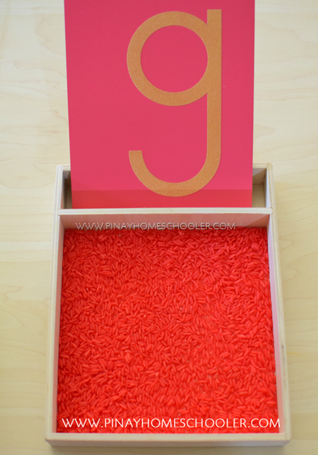 Learn to Write Letters for Preschoolers Using Sandpaper Letters