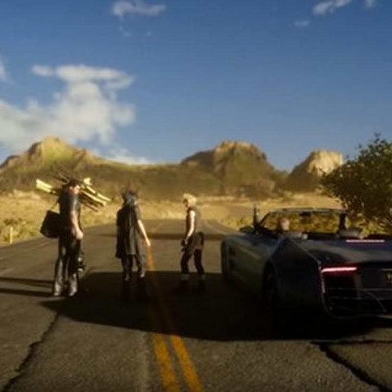"""Nur die erste Hälfte von Final Fantasy XV ist """"open world"""""""