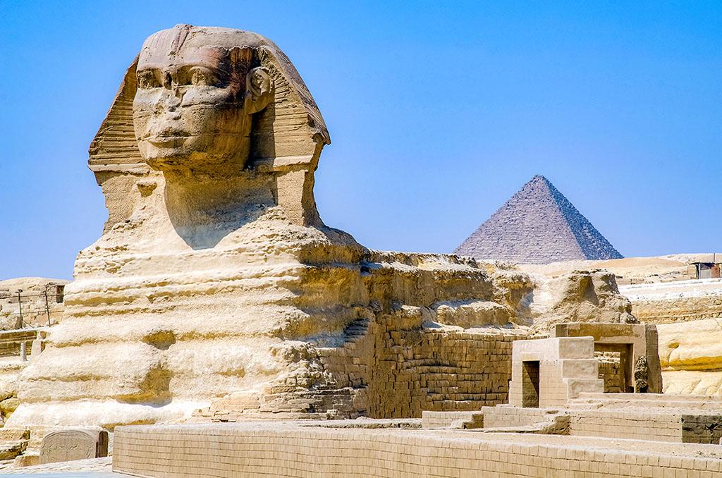 埃及 吉薩金字塔 Giza Pyramid 胡夫金字塔 斯芬克斯 Sphinx