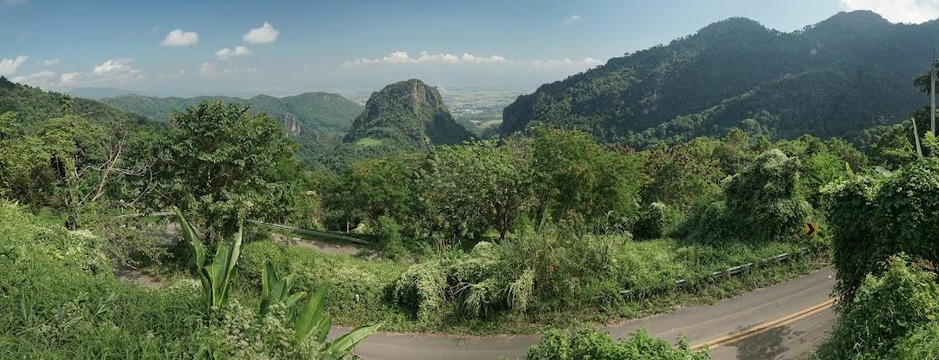 Berge rund um Doi Tung.
