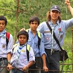 La primera salida de Juan Pablo Castañeda como dirigente Scout, justamente con la que fue su Patrulla