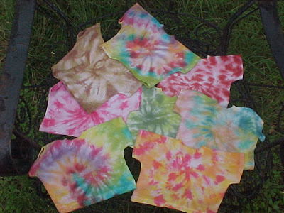 Tie Dye Doll Shirt - Your choice of colors