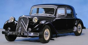 Citroen Traction 15-Six H 1954