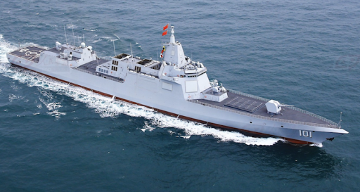 Kapal Destroyer Type 055