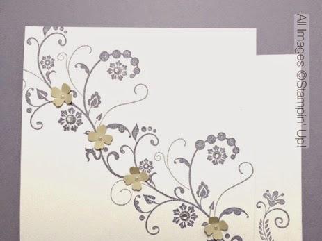 Flowering Wisteria Card