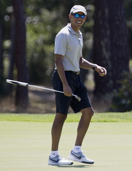 obama golf martha's vineyard