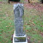Isballa Campbell (Sanders) Gleaves Wife of George Wythe Gleaves Fleming Methodist Church Cemetery Wythe County, Virginia