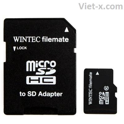 Phân phối thẻ nhớ điện thoại SD Wintec Box