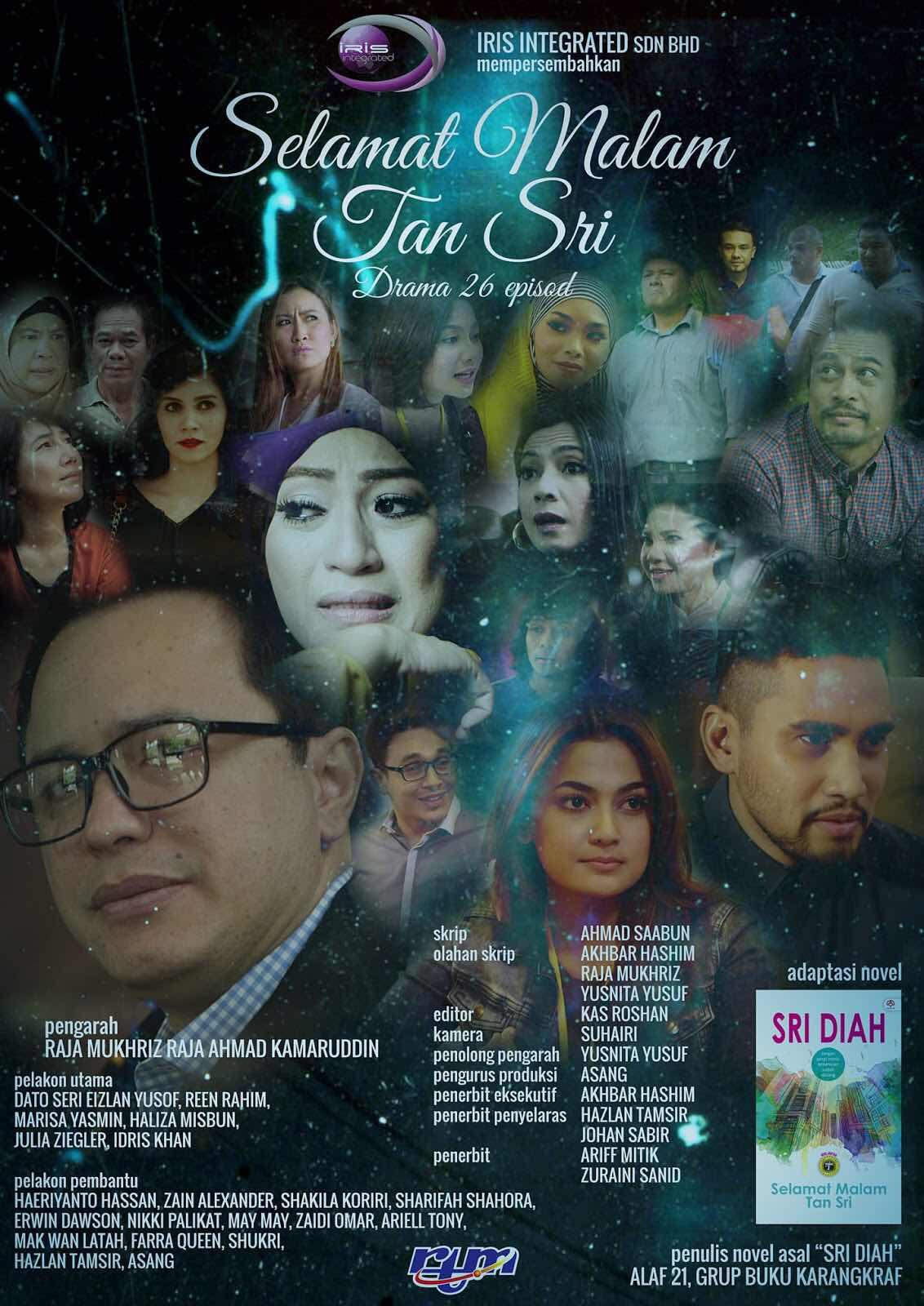 Permalink to Sinopsis Drama Selamat Malam Tan Sri (Selekta Prima TV2)