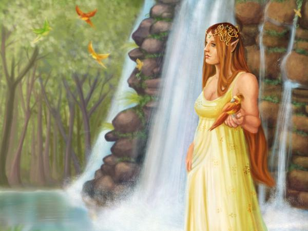 Young Fay Of Nature, Fairies 4
