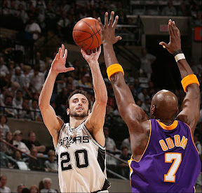 I Lakers si inchinano a Manu Ginobili