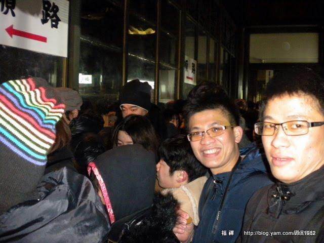 這2位仁兄可是千里迢迢,從台灣跑到這拜拜。