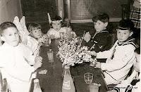 Primera Comunion en CandelarioSalamanca 1969