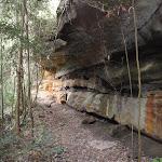 Magdala Track under cliffs (146895)