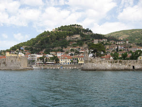 Photo: Navpaktos Fort from sea