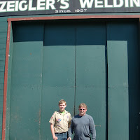 "Zeigler's Welding donated 1"" pins at material cost"
