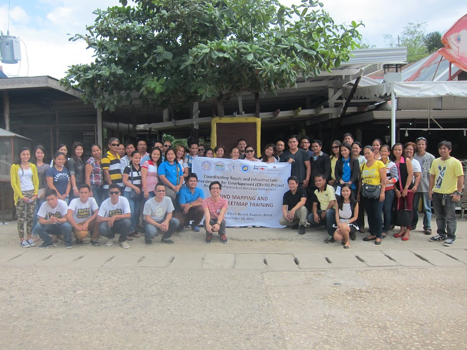 Panglao participants group shot
