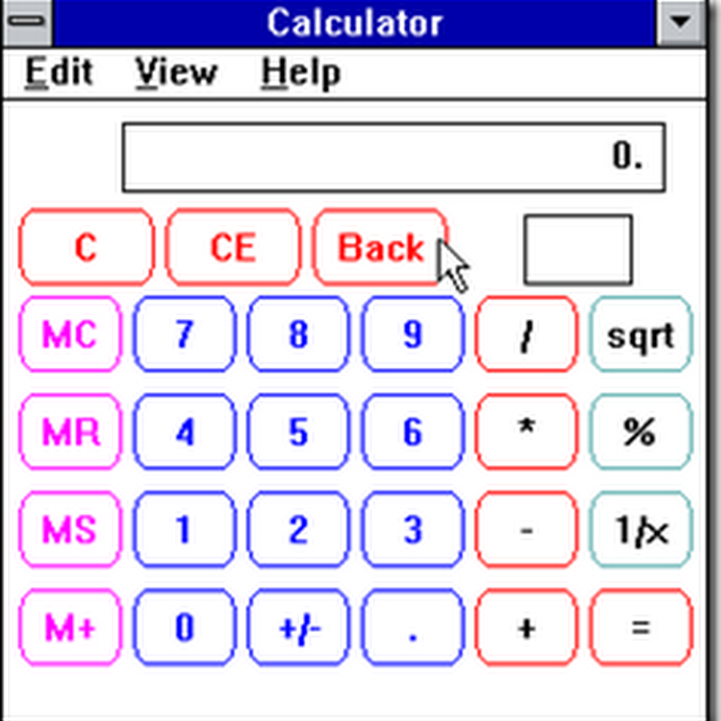 Windows Calculator. Windows Calculator???