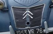 Citroën 1953 2 CV calandre 2