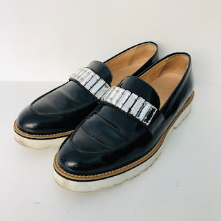 Hogan Rhinestone Loafers