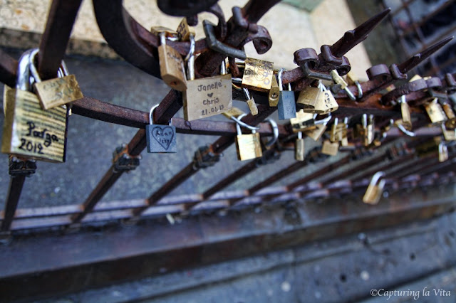 Pad-Locks of Love on the Arno. From Finding the Hidden Secrets of Florence: 8 You Don't Want to Miss