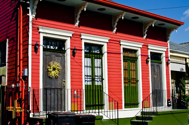 New Orleans, Marigny, Bywater, Jackson Square, French Quarter