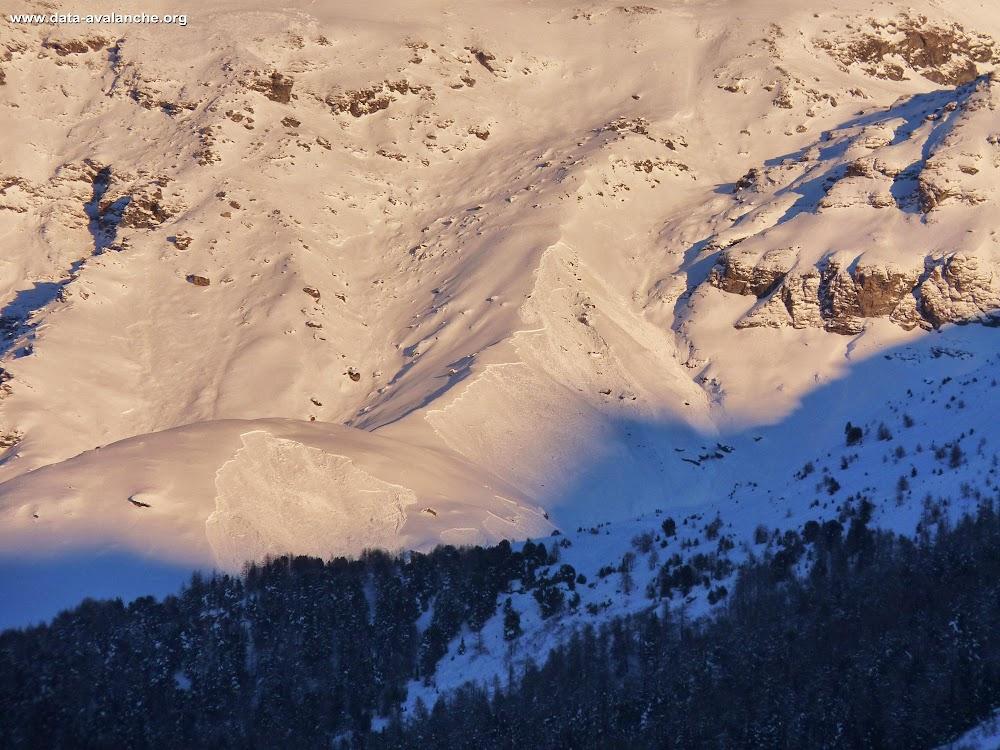 Avalanche Haute Maurienne, secteur Pointe des Pignes, Ruisseau de Charboillon Côte du Glacier - Lanslevillard - Photo 1