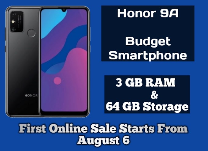 Honor 9A Launched in India Check Price Specification Features