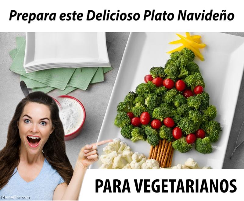 Receta Navideña para Vegetarianos