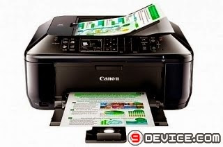 Canon PIXMA MX524 laser printer driver | Free get and set up