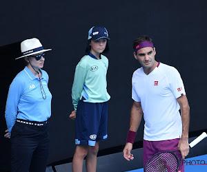Roger Federer krijgt boete voor atypisch moment