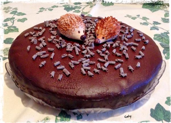 Cocco & cacao vegan cake