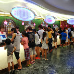 purchasing our tickets in Seoul, Seoul Special City, South Korea