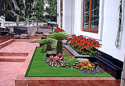 contoh taman rumah gallery taman minimalis